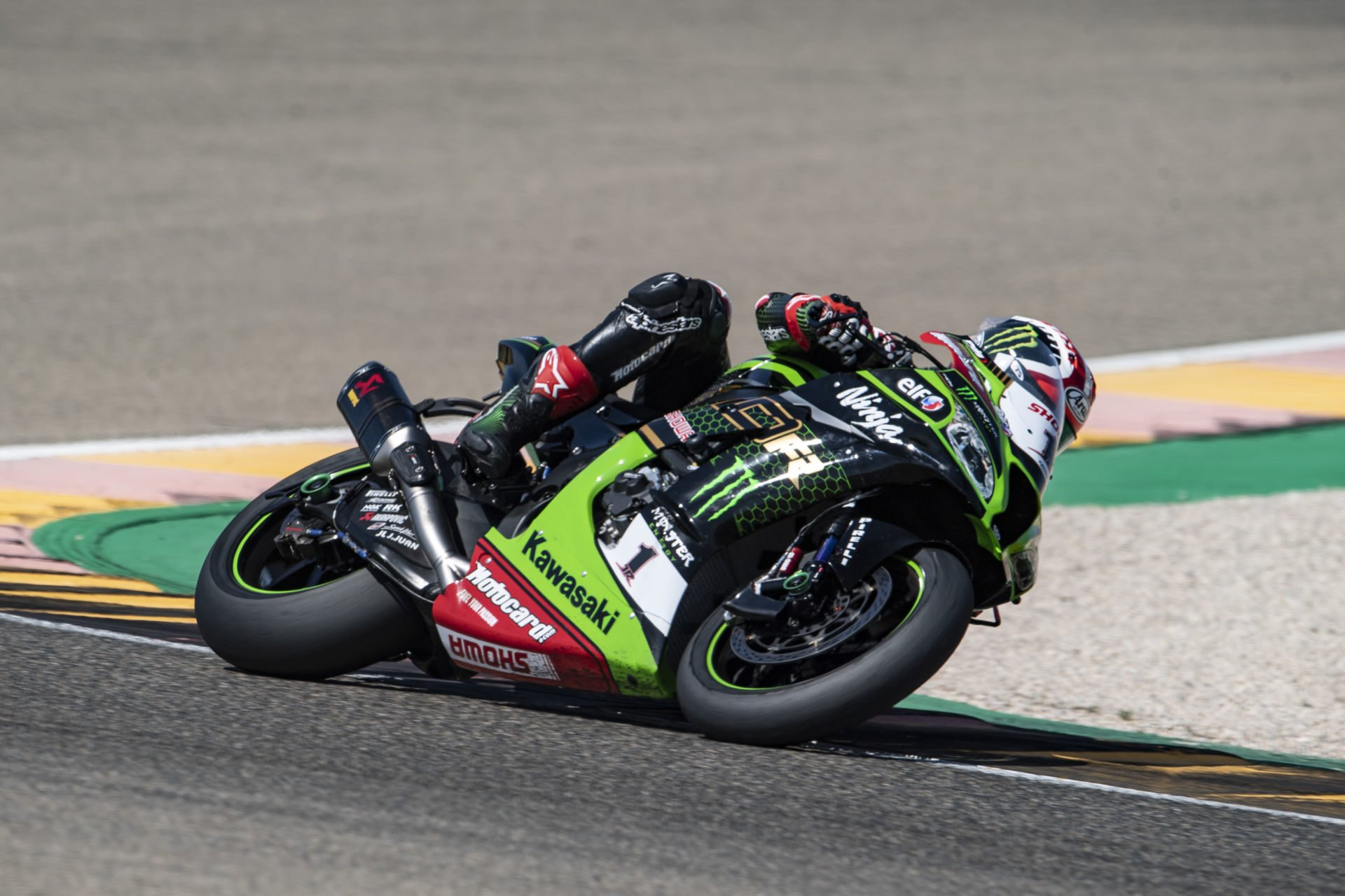 Jonathan Rea (1). Photo courtesy Kawasaki.