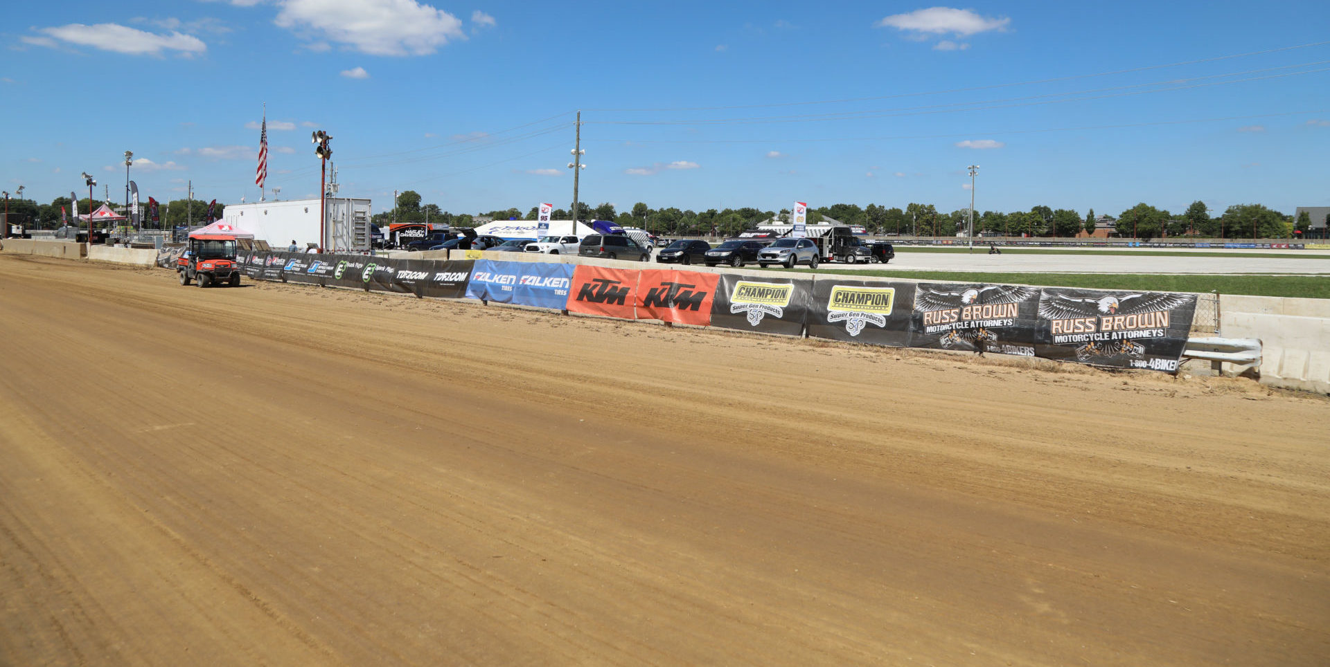 The Indy Mile at the Indiana State Fairgrounds, in Indianapolis, Indiana. Photo by Scott Hunter, courtesy AFT.