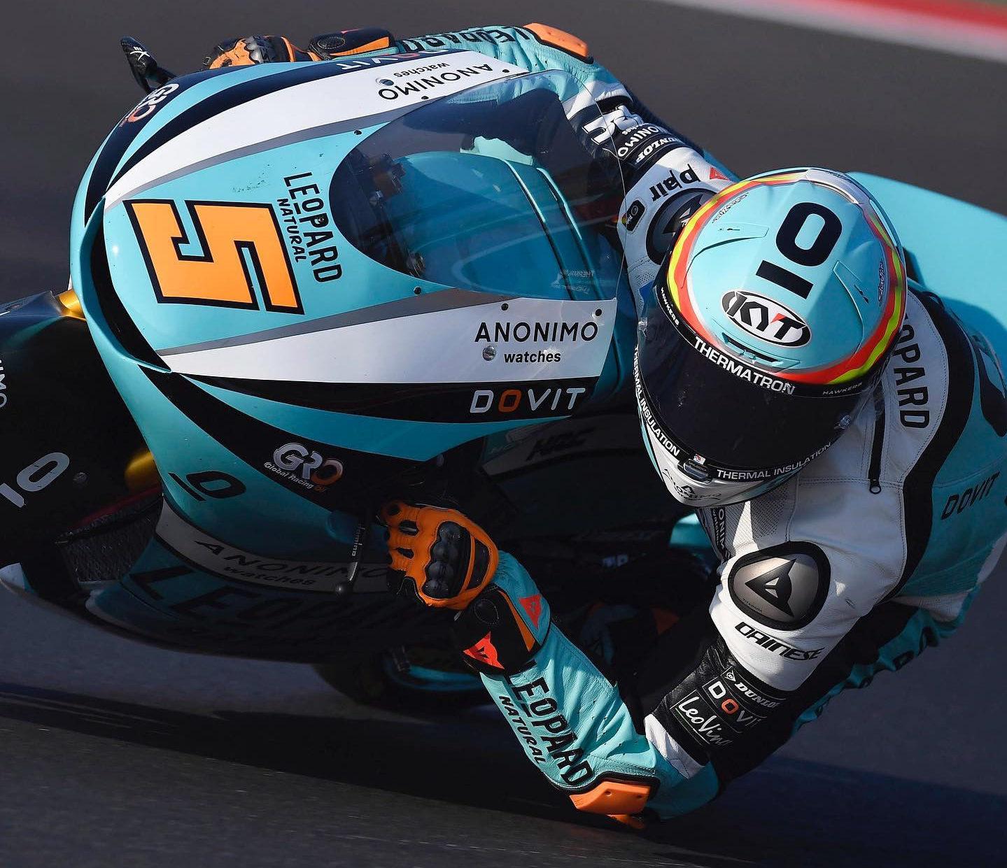 Jaume Masia (5). Photo courtesy Leopard Racing.