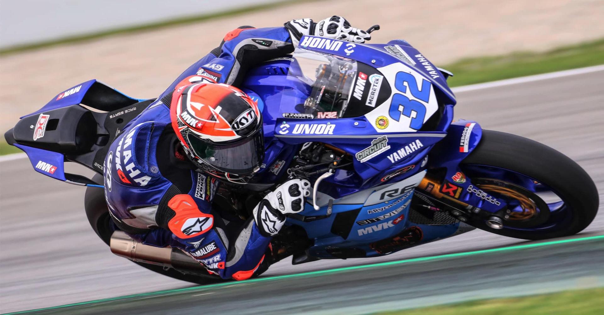 Isaac Vinales (32). Photo courtesy Kallio Racing.