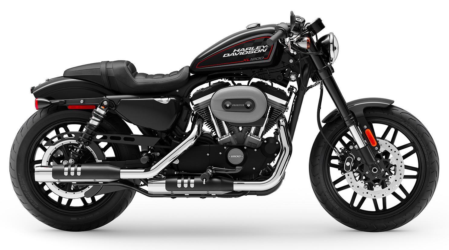 A 2020 Harley-Davidson XL1200 Sportster Roadster. Photo courtesy Dunlop.