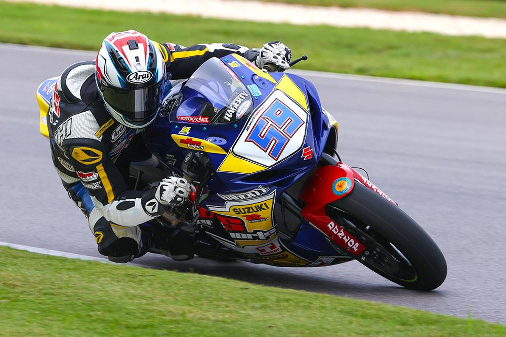 Jaret Nassaney (59) . Photo by Brian J. Nelson, courtesy Altus Motorsports.