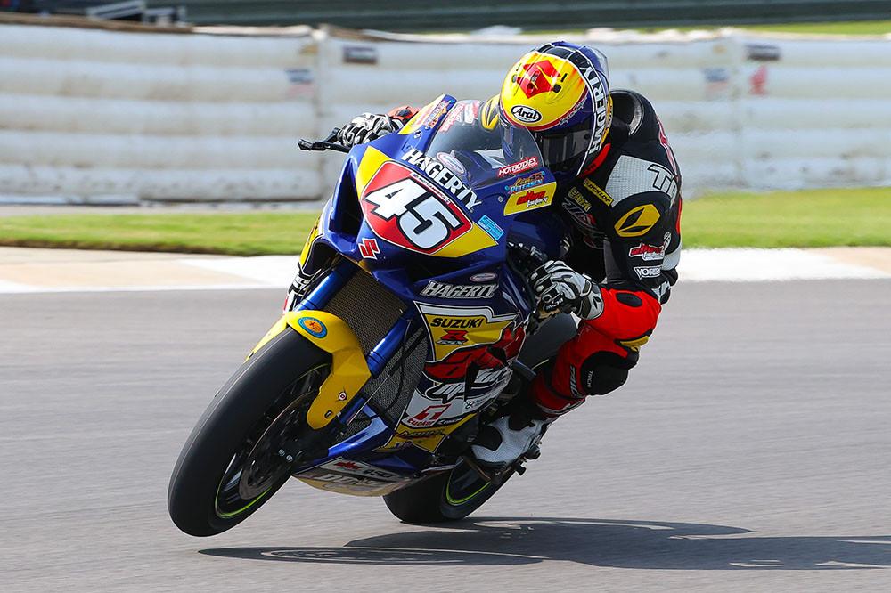 Cameron Petersen (45). Photo by Brian J. Nelson, courtesy Altus Motorsports.