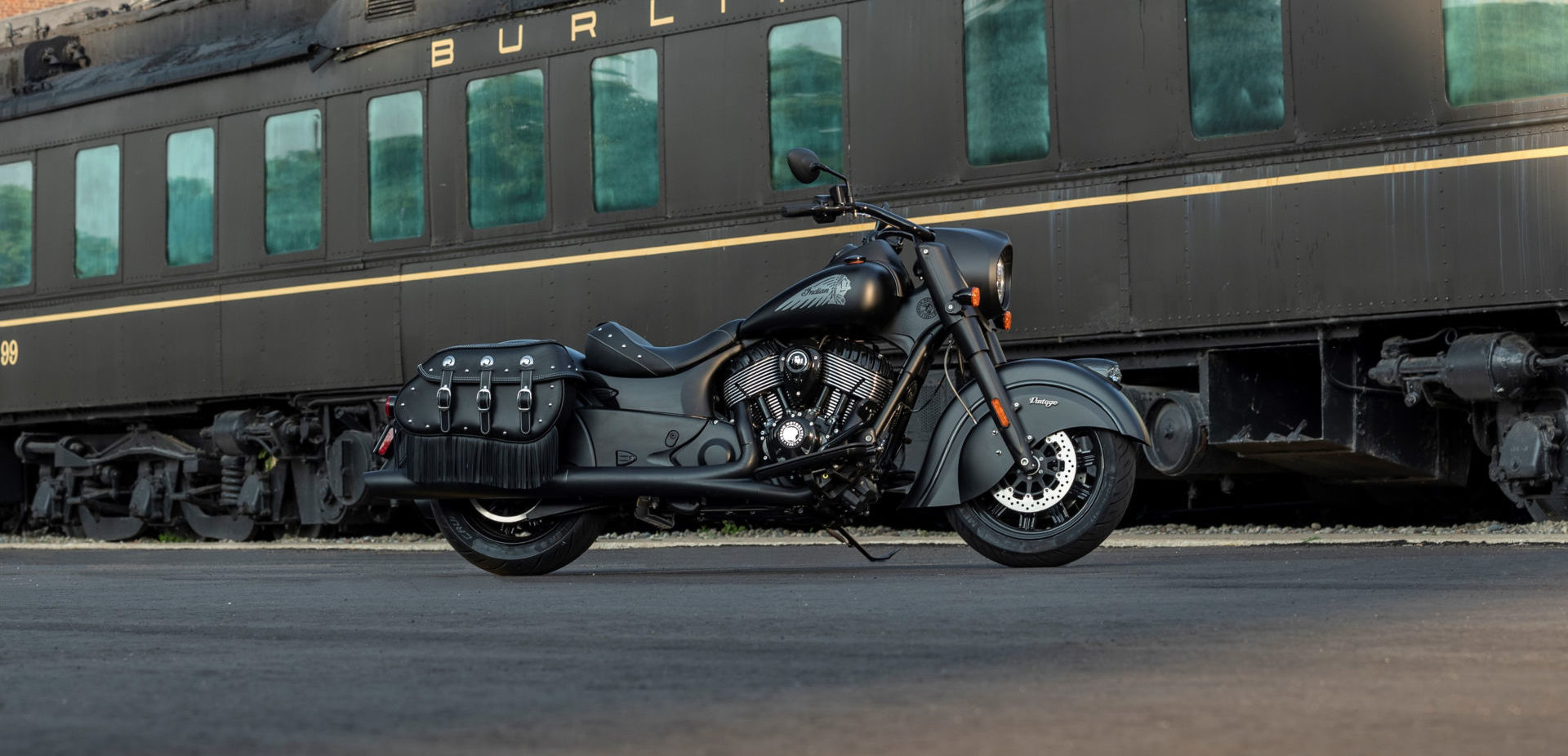 A 2021 Indian Vintage Dark Horse. Photo courtesy Indian Motorcycle.