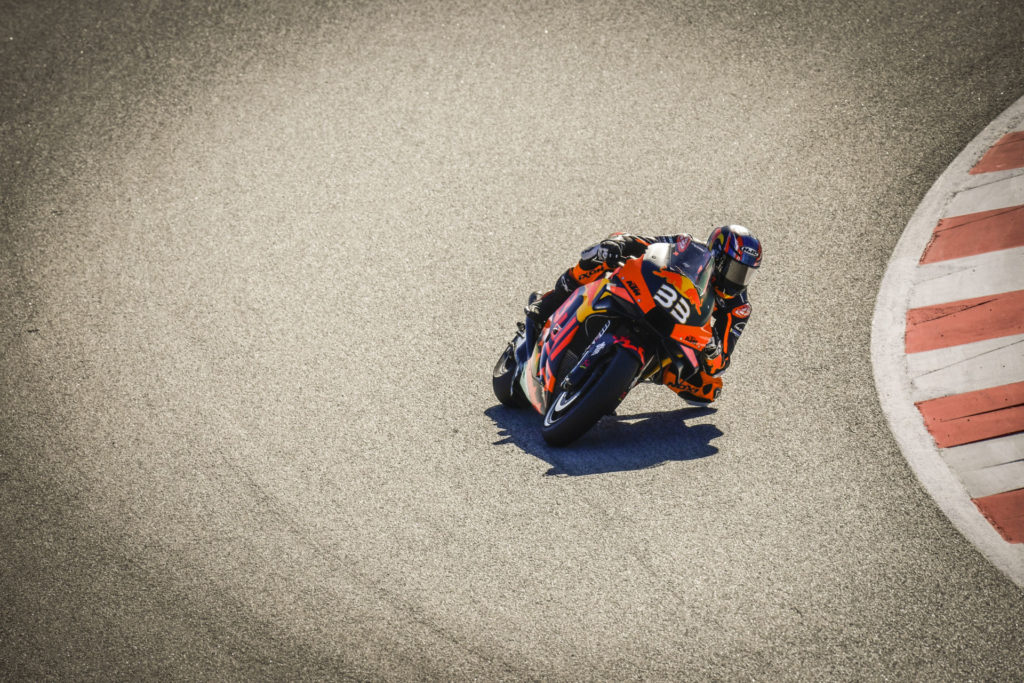Brad Binder (33). Photo courtesy Dorna.