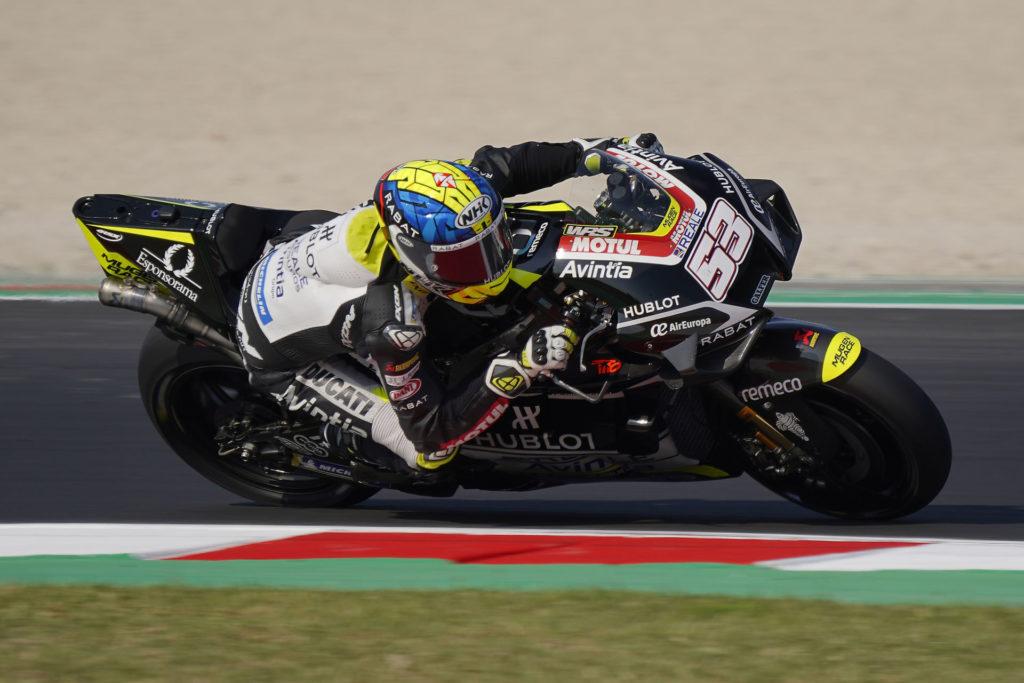 Tito Rabat (53). Photo courtesy Avintia Esponsorama Racing.