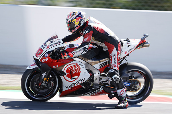 Takaaki Nakagami (35). Photo courtesy LCR Honda Castrol.