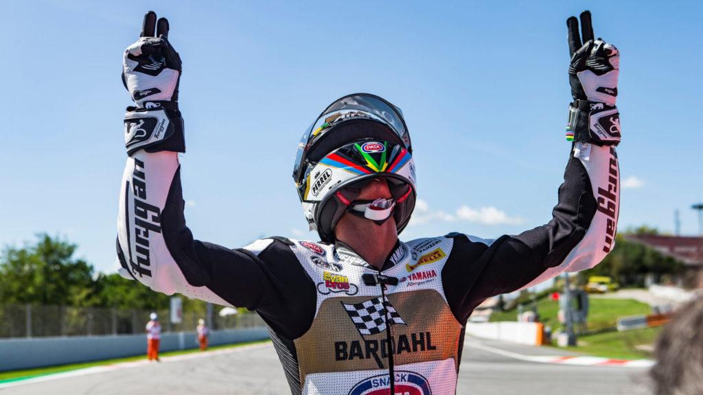 Andrea Locatelli, the 2020 FIM Supersport World Champion. Photo courtesy Yamaha.