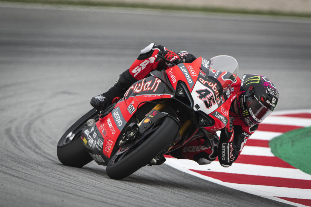 Scott Redding (45). Photo courtesy Ducati,