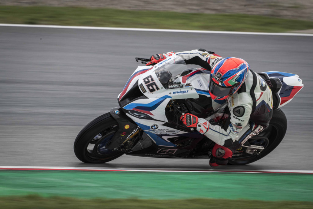 Tom Sykes (66). Photo courtesy BMW Motorrad Motorsports.