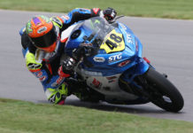 Max Van (48). Photo by Brian J. Nelson, courtesy SportbikeTrackGear.com.