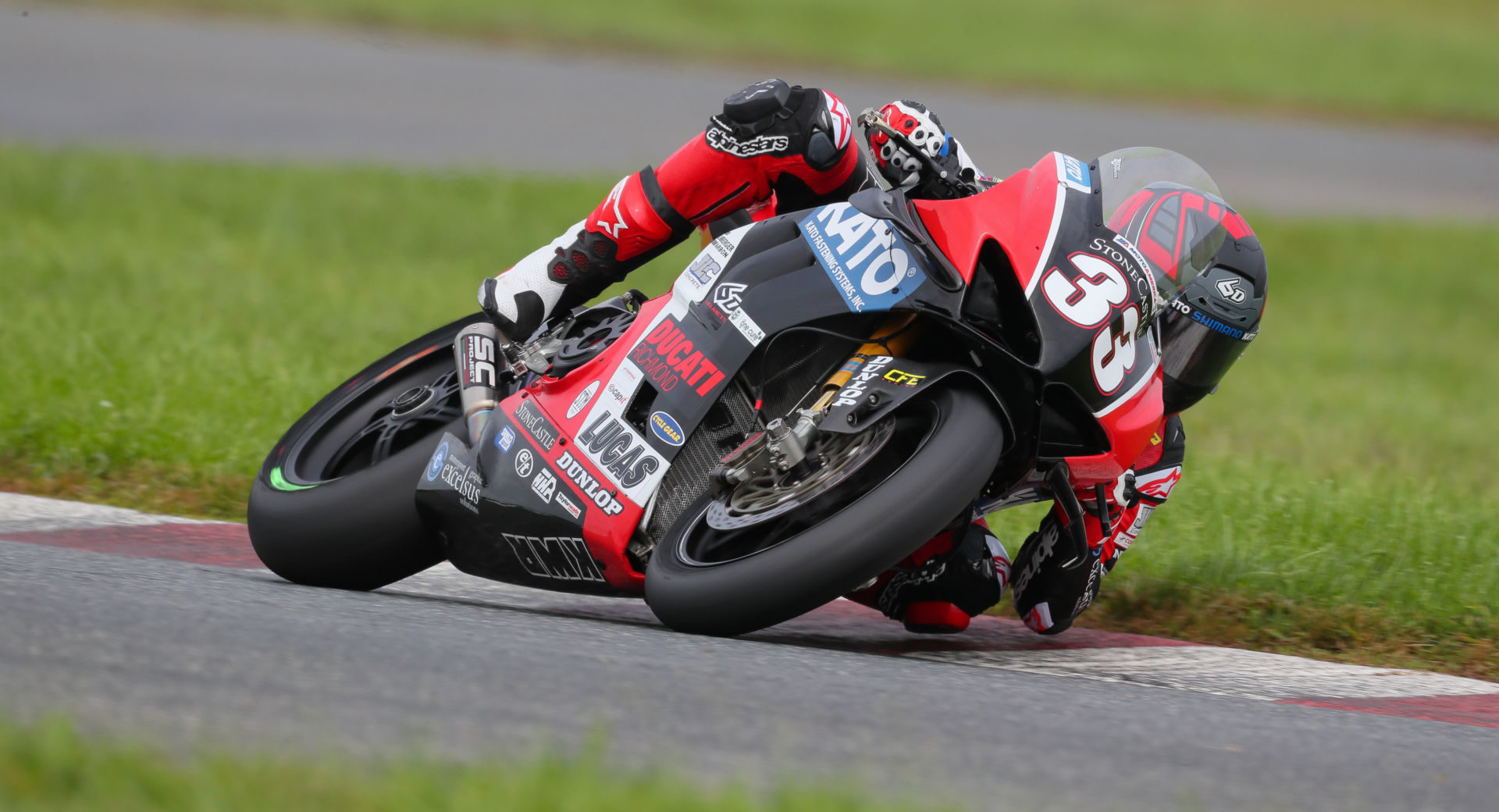 Kyle Wyman (33) in action at New Jersey Motorsports Park. Photo by Brian J. Nelson.