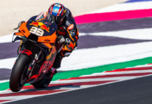 Brad Binder (33). Photo courtesy KTM.