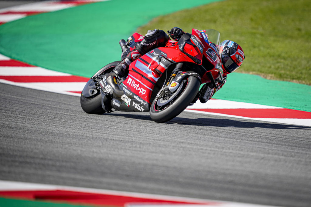 Danilo Petrucci (9). Photo courtesy Ducati.