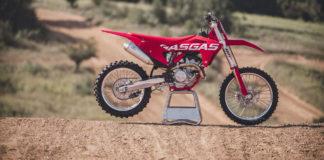 A 2021-model GasGas MC 250 F. Photo courtesy GasGas.
