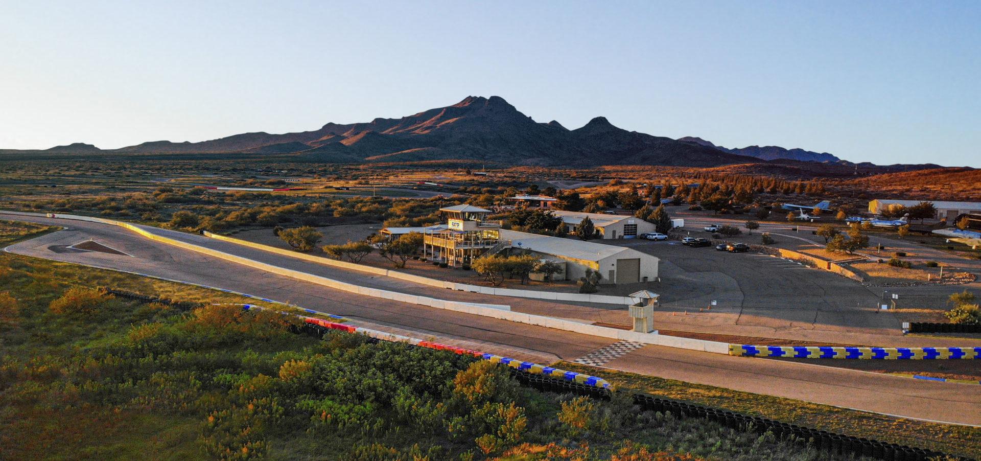 Inde Motorsports Ranch, in Willcox, Arizona. Photo courtesy Inde Motorsports Ranch.