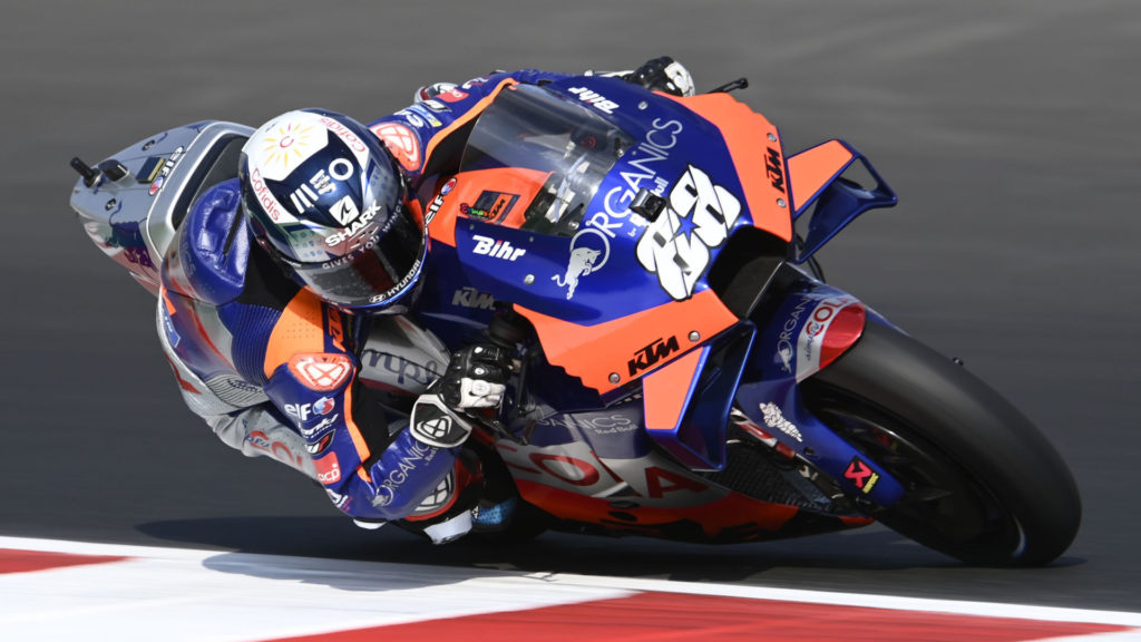 Miguel Oliveira (88). Photo courtesy Red Bull KTM Tech3.