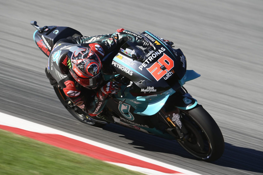 Franco Morbidelli (21). Photo courtesy Team Suzuki ECSTAR.