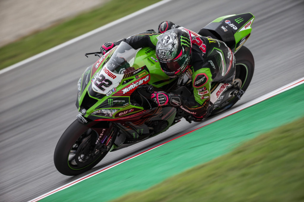 Alex Lowes (22). Photo courtesy Kawasaki.