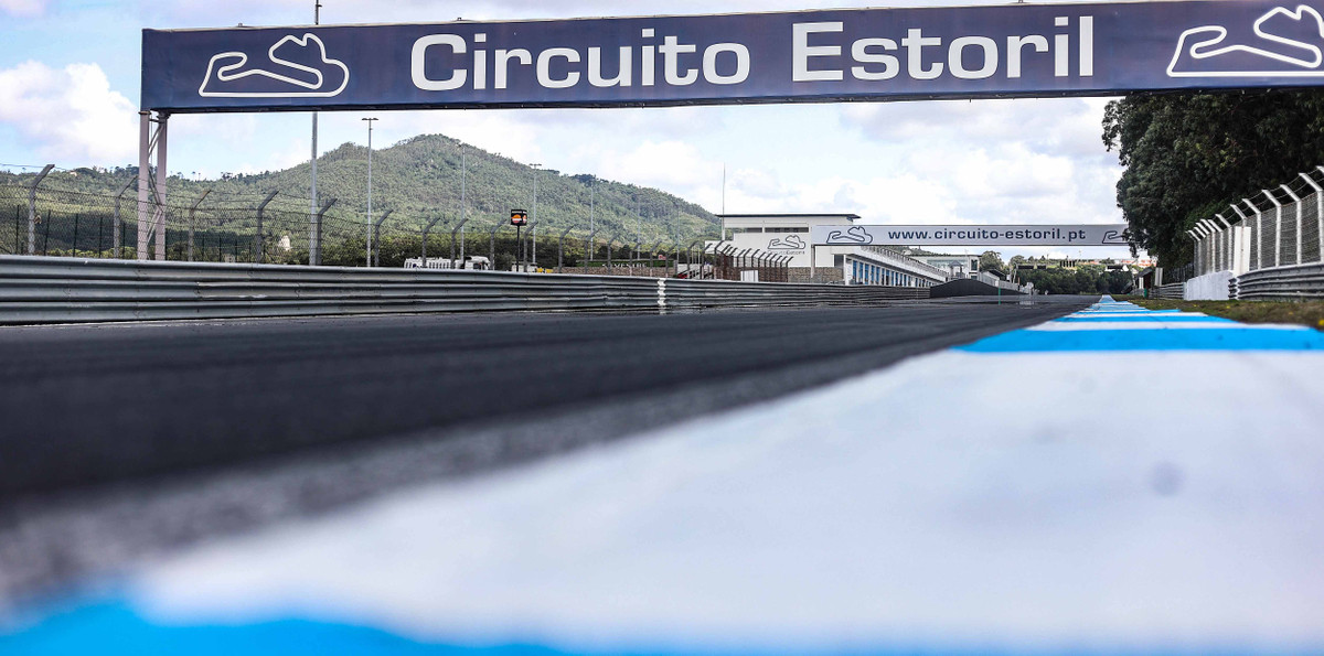 Circuito Estoril in Portugal. Photo courtesy Eurosport Events.