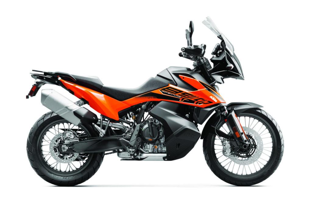 KTM's new 2021 890 Adventure. Photo courtesy KTM.