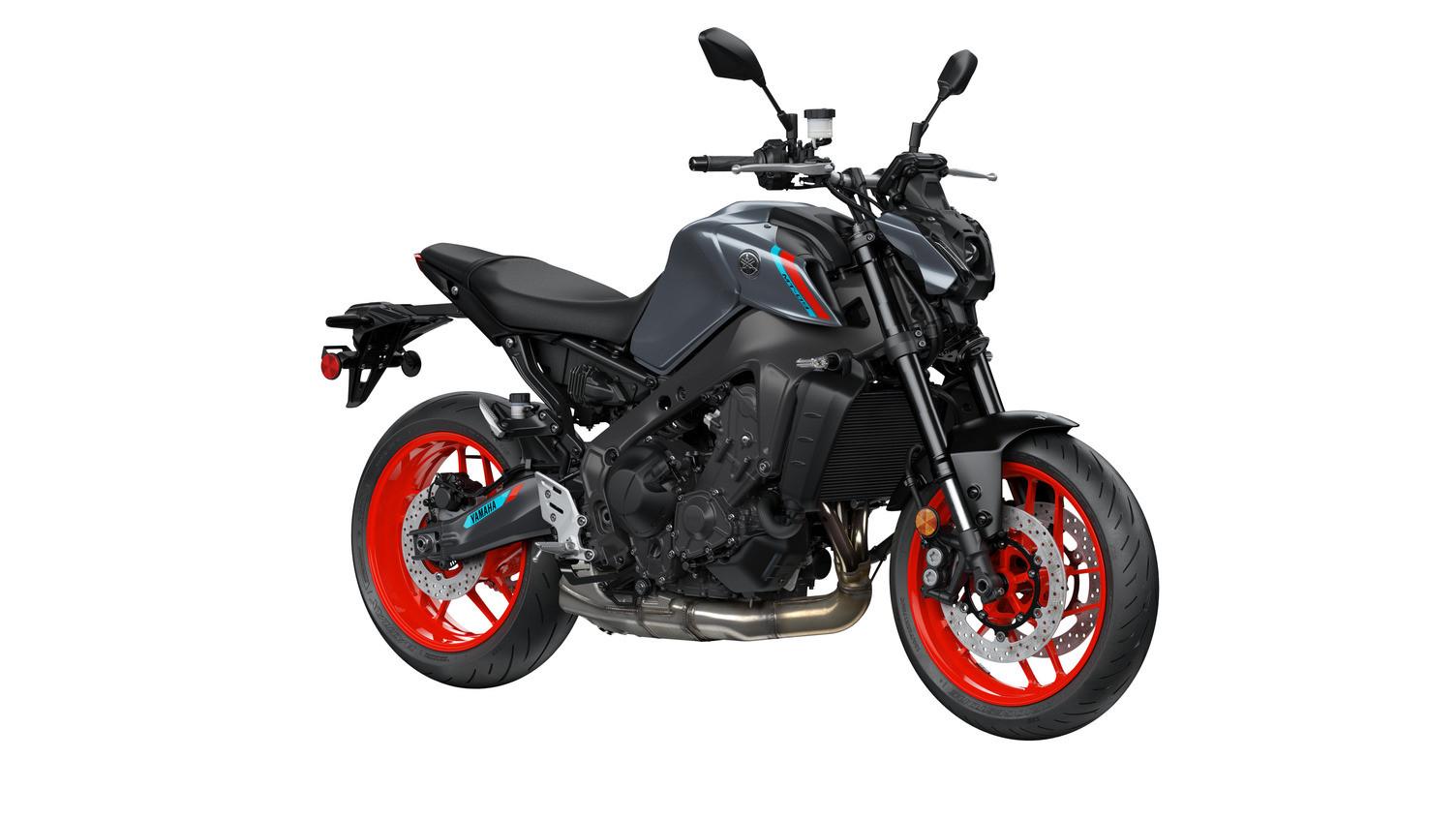 A 2021 Yamaha MT-09. Photo courtesy Yamaha.