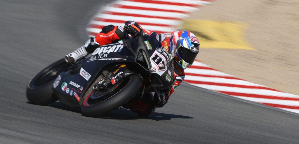 Lorenzo Zanetti (87). Photo courtesy Ducati North America.