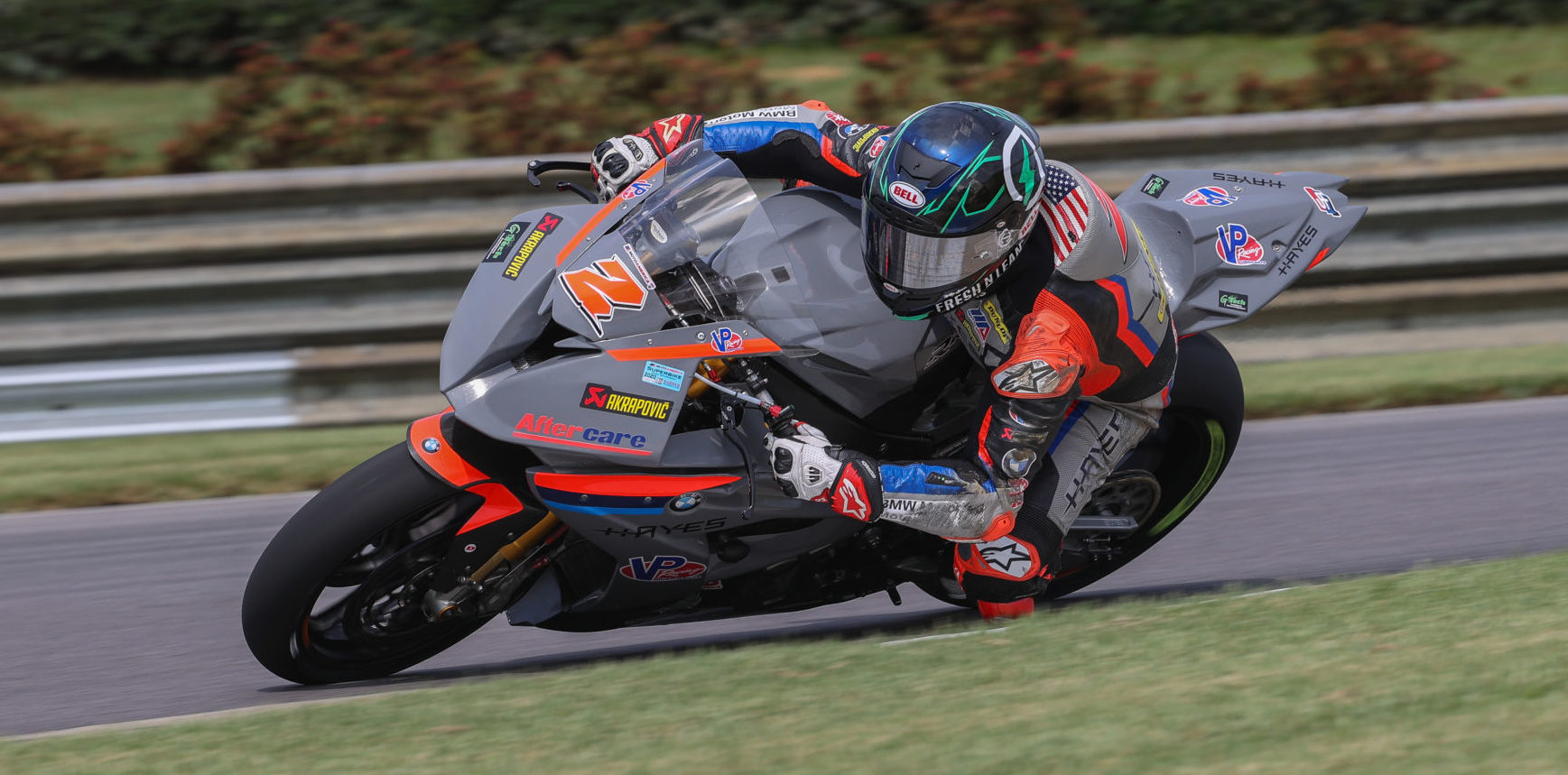 Josh Herrin (2) at speed at Barber Motorsports Park. Photo by Brian J. Nelson.