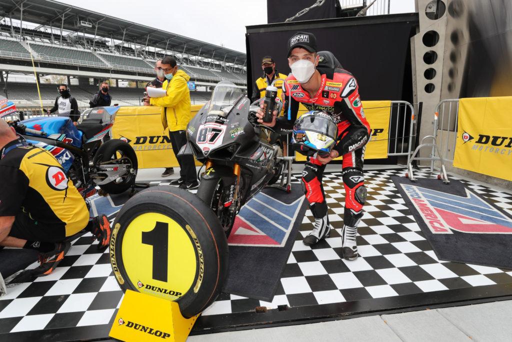 Lorenzo Zanetti. Photo courtesy Ducati North America.
