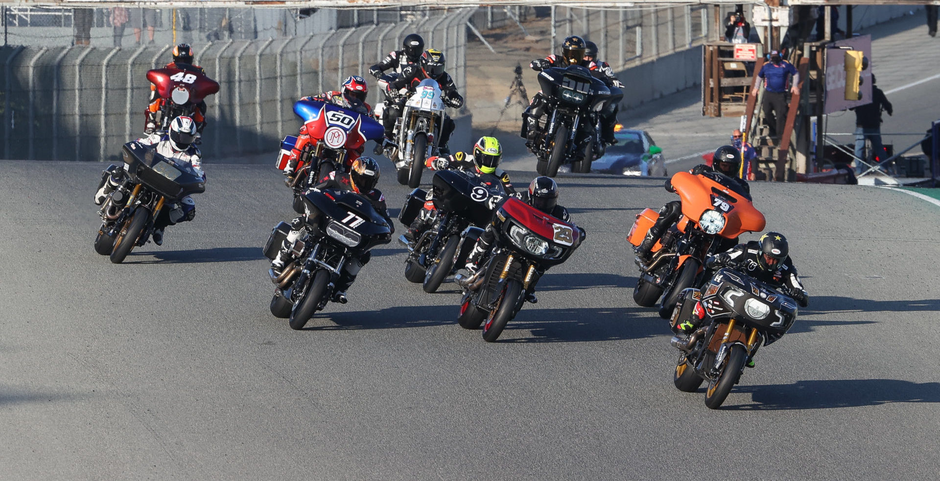 The start of the King of the Baggers race. Photo by Brian J. Nelson.