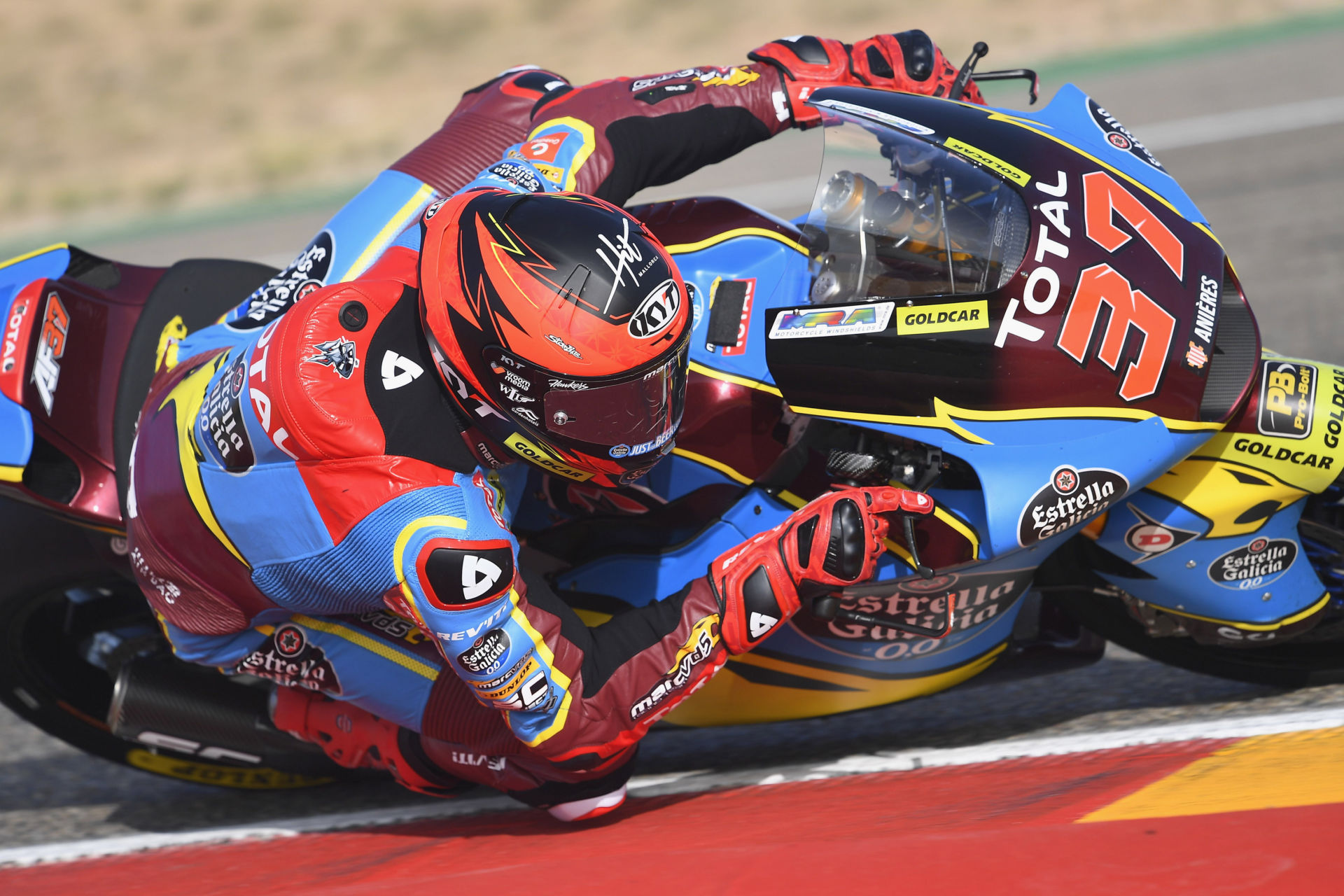 Augusto Fernandez (37). Photo courtesy Marc VDS Racing Team.