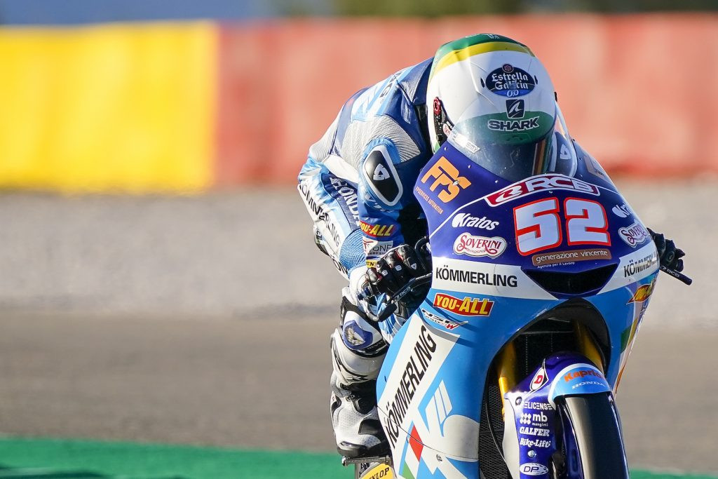 Jeremy Alcoba (52). Photo courtesy Gresini Racing.