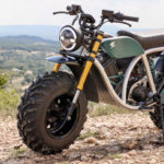 A Volcon Grunt electric off-road motorcycle. Photo courtesy Volcon.
