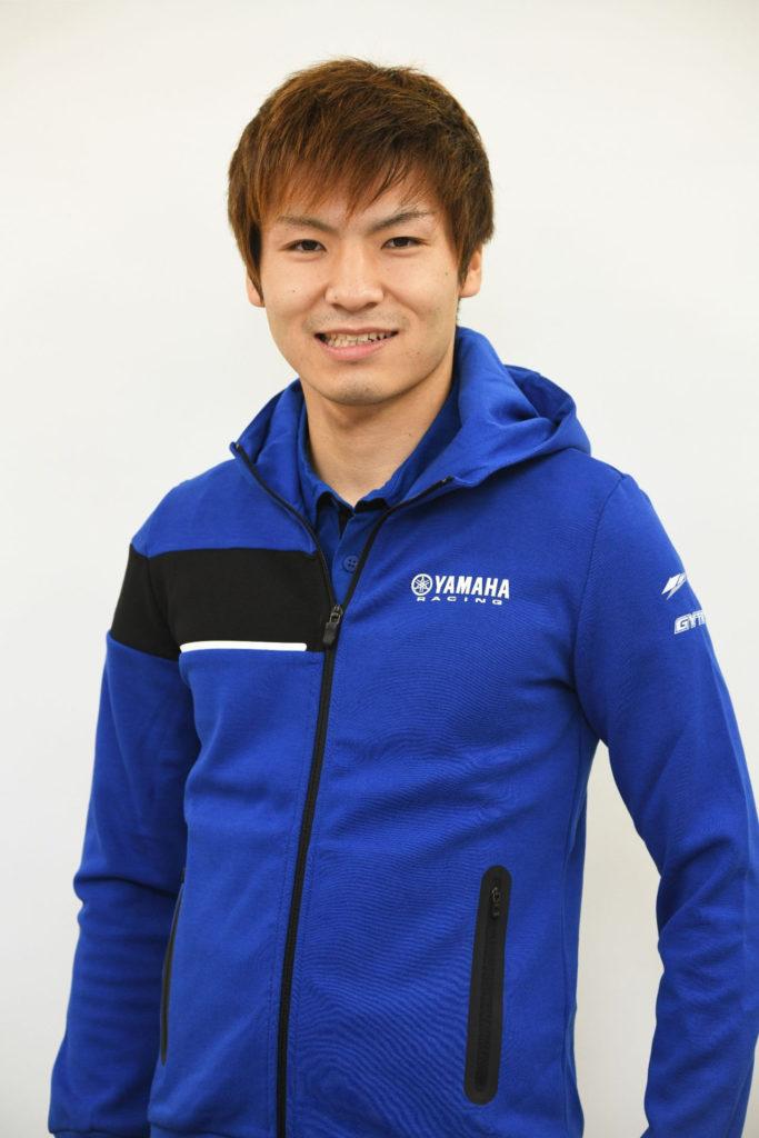 Kohta Nozane. Photo courtesy Yamaha Motor Europe.
