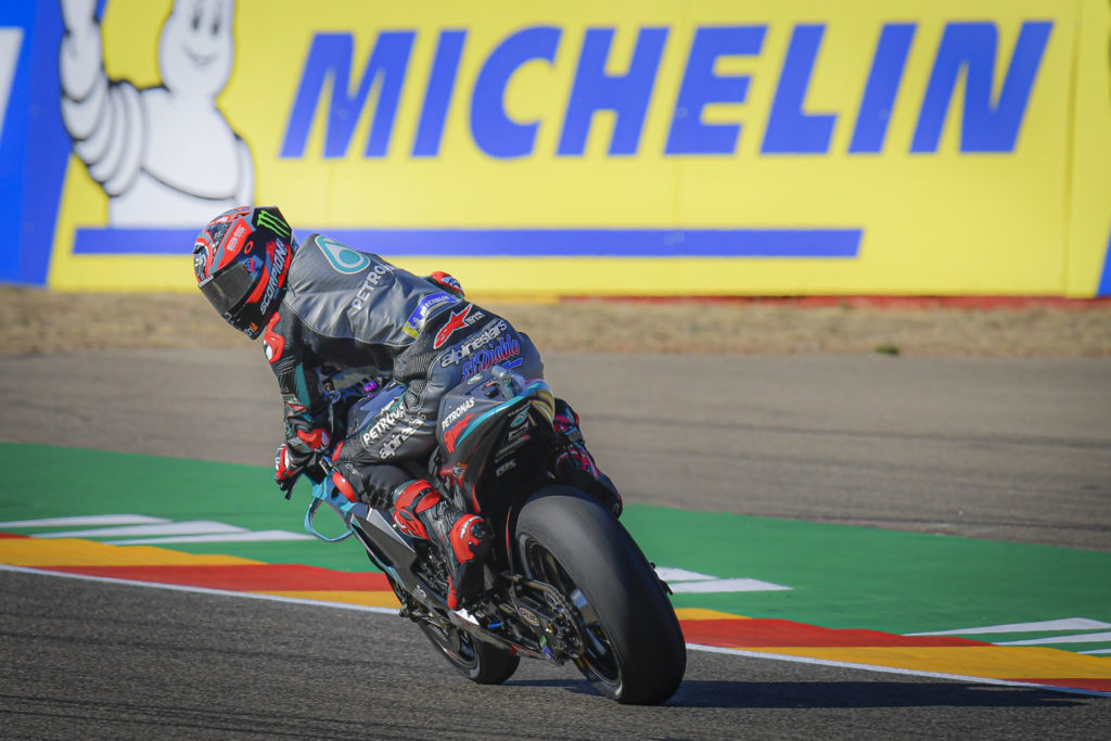 Fabio Quartararo (20). Photo courtesy Dorna.