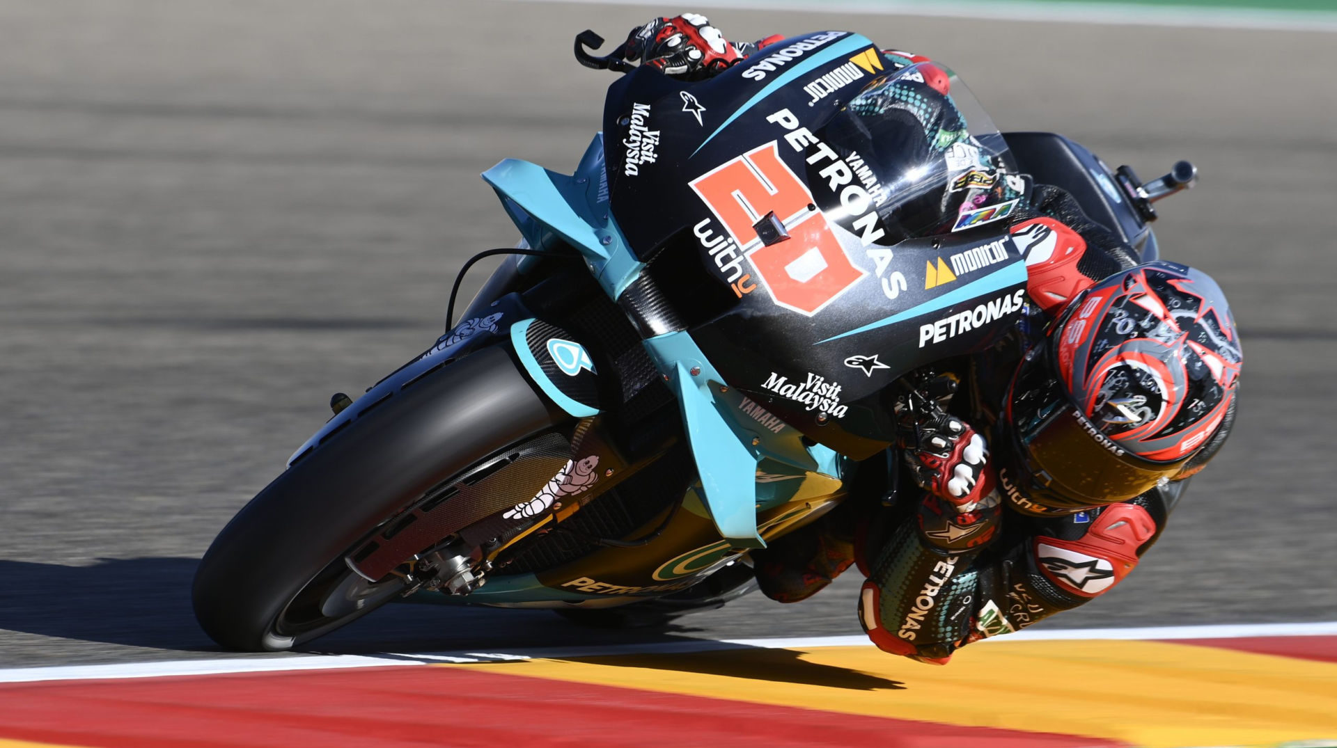 Fabio Quartararo (20). Photo courtesy PETRONAS Yamaha SRT.
