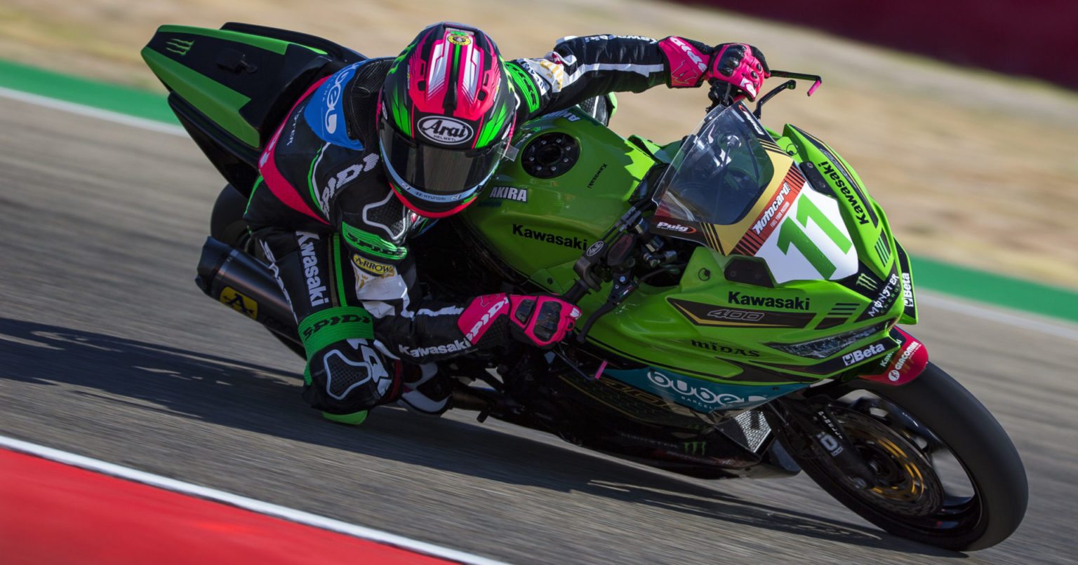 World Supersport 300: Ana Carrasco's Recovery