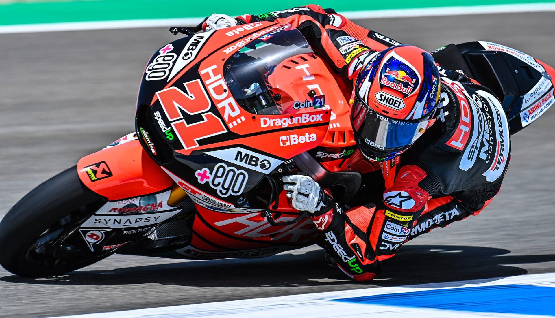 Fabio Di Giannantonio (21). Photo courtesy Speed Up Racing.