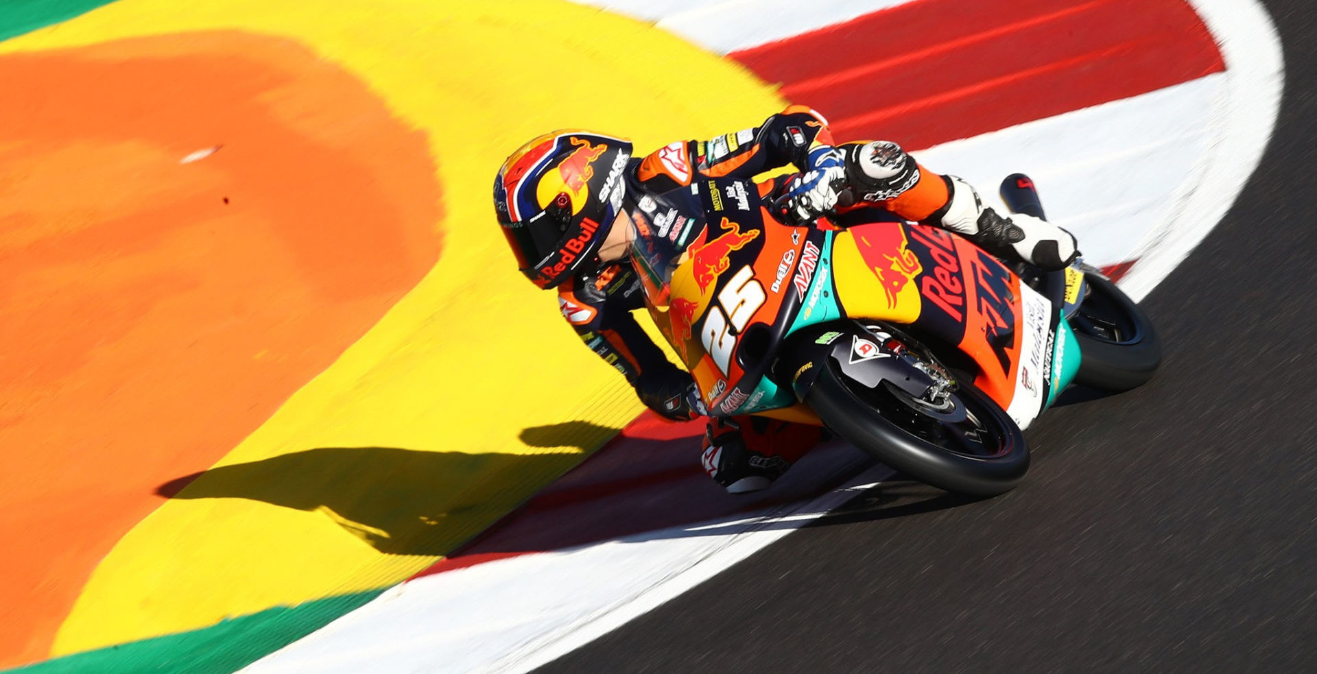 Raul Fernandez (25). Photo courtesy Red Bull KTM Ajo.