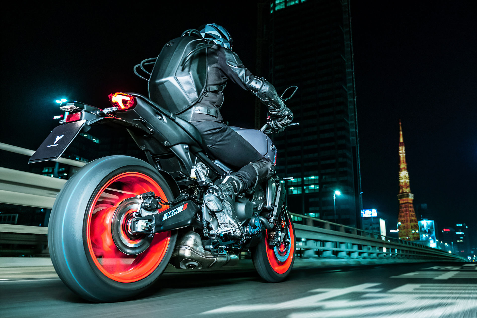 A 2021-model Yamaha MT-09. Photo courtesy Yamaha.