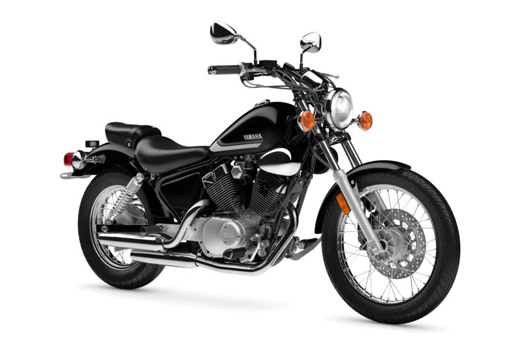 A 2021 Yamaha V Star 250. Photo courtesy Yamaha Motor Corp., U.S.A.