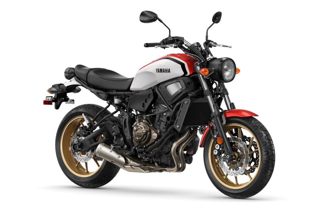 A 2021 Yamaha XSR700. Photo courtesy Yamaha Motor Corp., U.S.A.