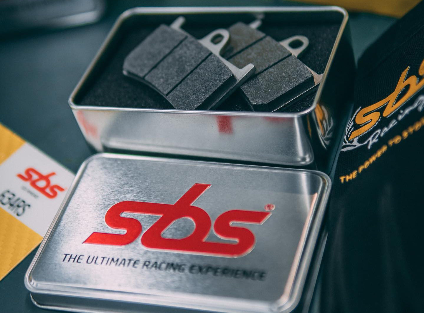 SBS motorcycle brake pads. Photo courtesy SBS Friction.