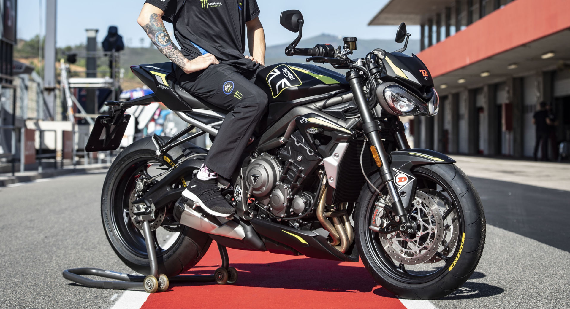 Triumph PTR Racing Team plans to base its British Supersport effort on the Triumph Street Triple RS. Photo courtesy Triumph.
