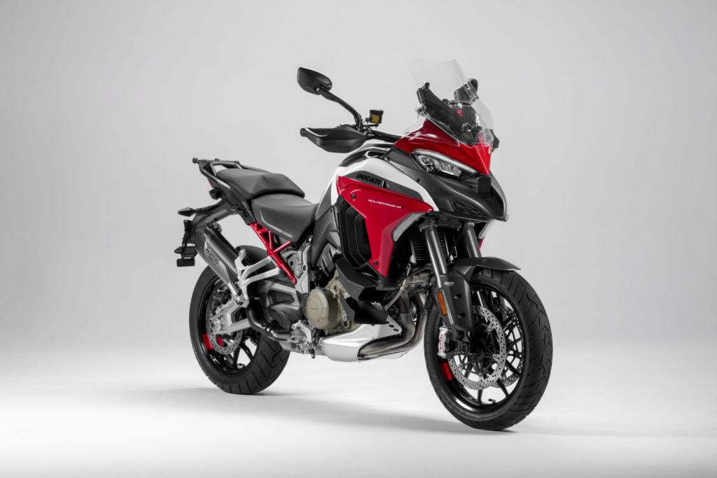 A 2021 Ducati Multistrada V4 S Sport. Photo courtesy Ducati.