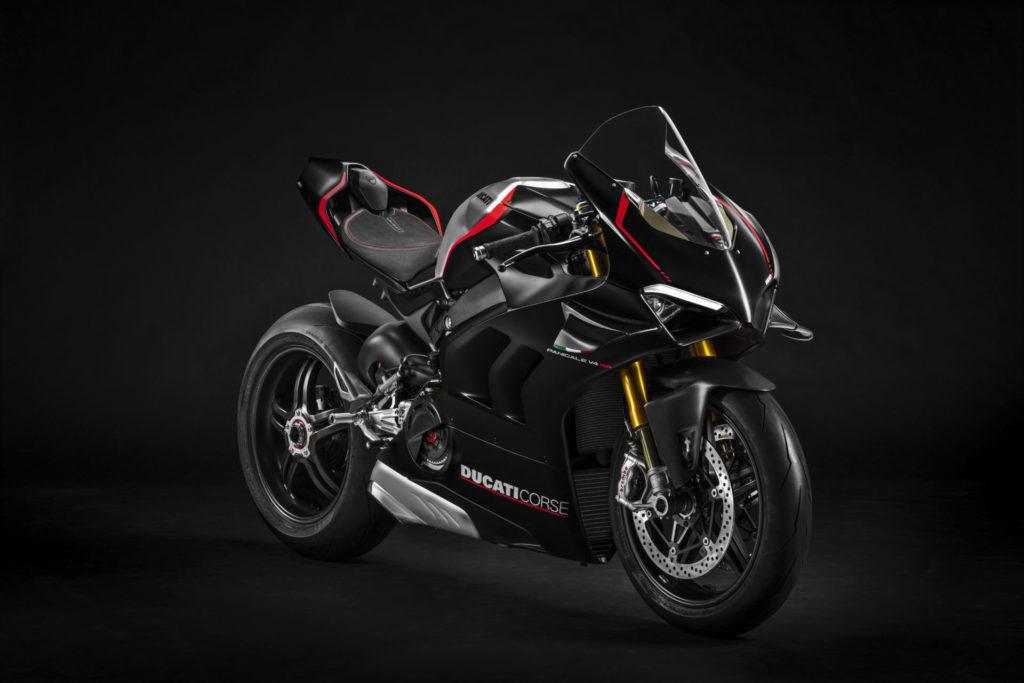 A 2021 Ducati Panigale V4 SP. Photo courtesy Ducati.