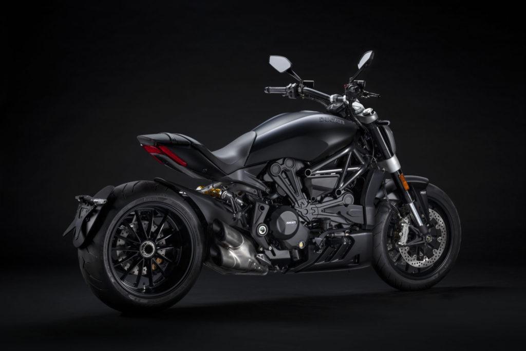 A 2021 Ducati XDiavel Dark. Photo courtesy Ducati.