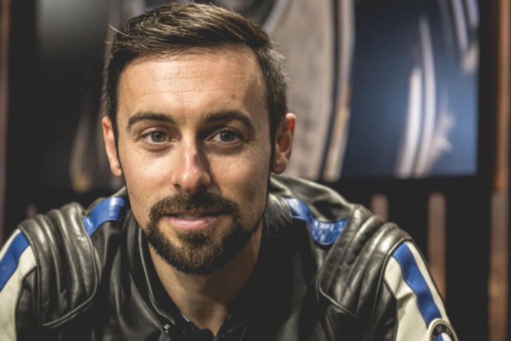 Eugene Laverty. Photo courtesy BMW Motorrad Motorsport.