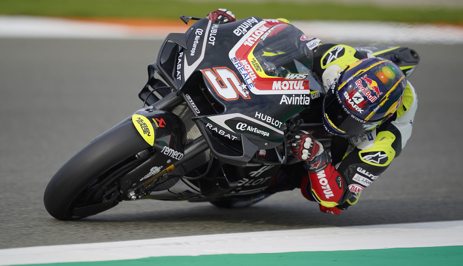 Johann Zarco (5). Photo courtesy Esponsorama Racing.