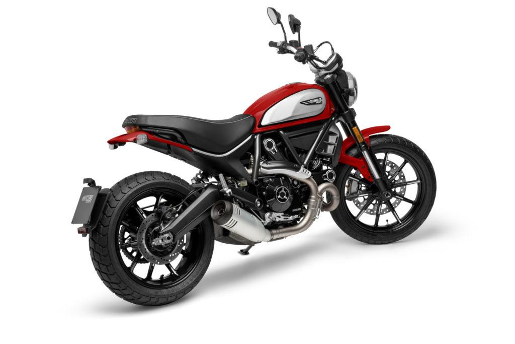 A 2021 Ducati Scrambler Icon. Photo courtesy Ducati.